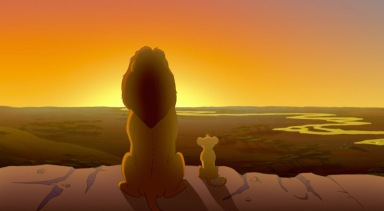 Mufasa-showing-Simba-the-kingdom-in-The-Lion-King